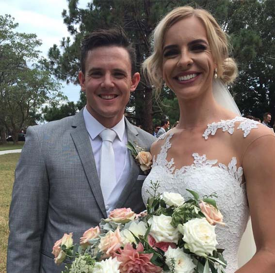 Marriage Celebrant for Brendan & Danielle