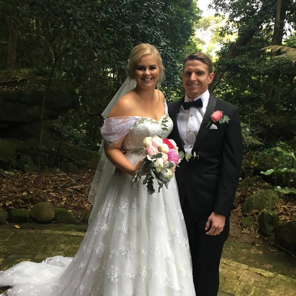 Marriage Celebrant for Adam & Amber
