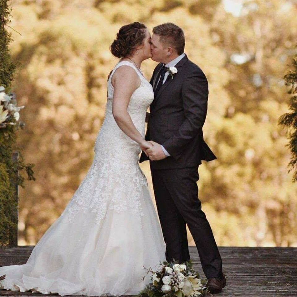 Marriage Celebrant for Owen & Jacinta